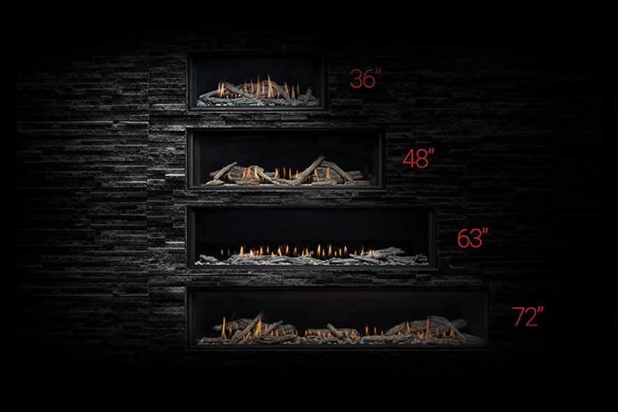 Montigo modern residential fireplace single sided distinctions 1000x500