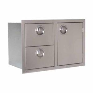 Door drawer combo