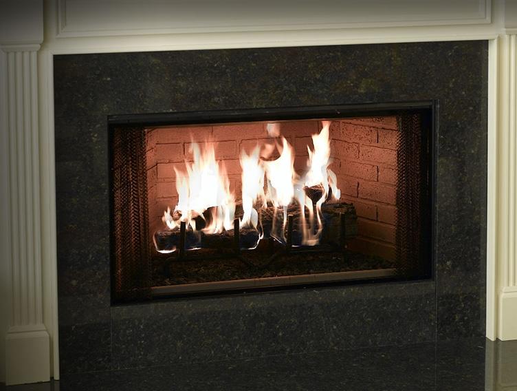 Element Wood Fireplace