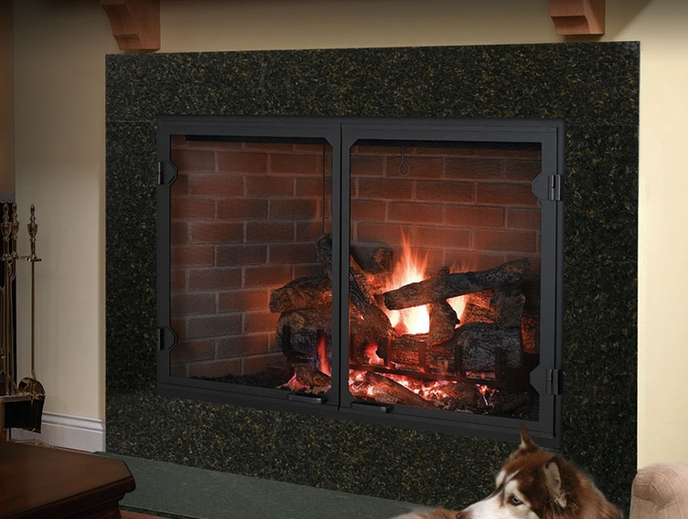 Icon Series Wood Fireplace