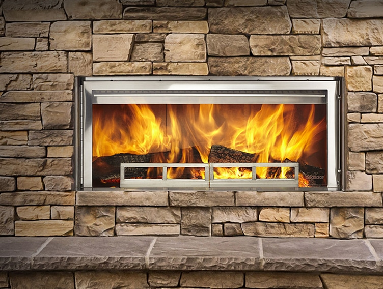 Longmire Wood-Burning Fireplace