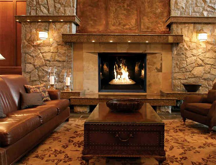 Tc54 Indoor Gas Fireplace Encino Fireplace Shop