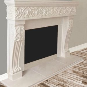 Anita fireplace mantel