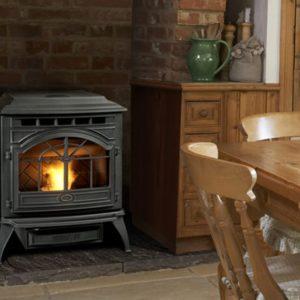 Castile pellet stove