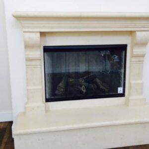 Cortina fireplace mantel