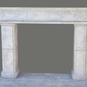 Donna cast stone fireplace mantel