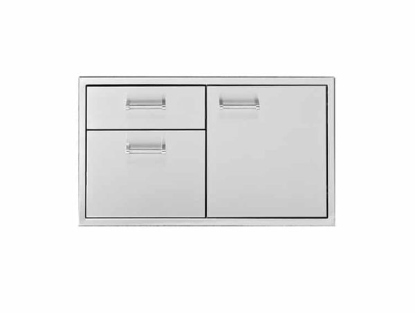 Door two or three drawer combo