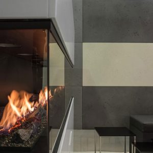 Fla3xlsuite ethanol fireplace insert with logs zoom