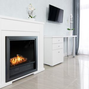 Lincoln softly residence 1 white logs
