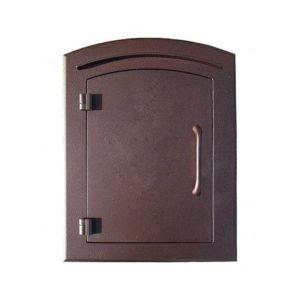 Manchester door antique copper