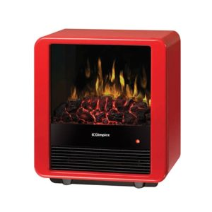 Mini cube electric stove encino fireplace shop