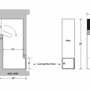 Security chute for manchester doors specs