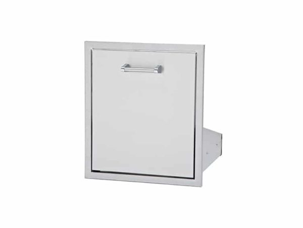 Trash lp tank drawer