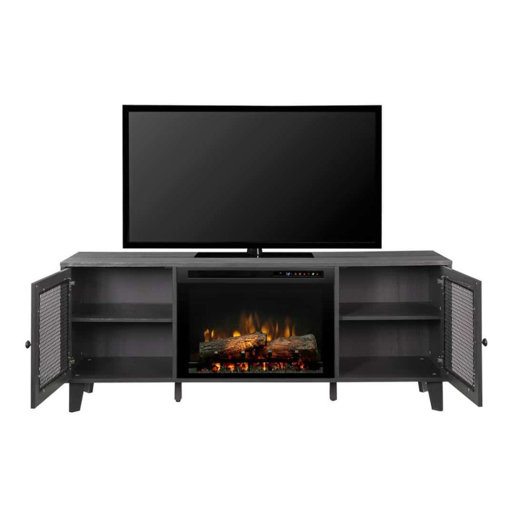 Electric Fireplace Media Console Encino Fireplace, Dean Media Console Electric Fireplace, Encino Fireplace Shop