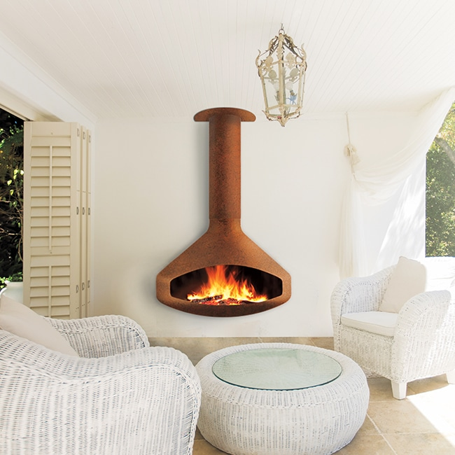 Encino Fireplace Outdoor Paxfocus